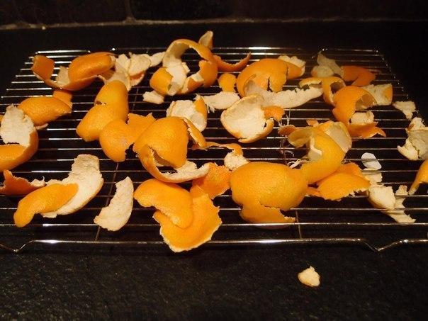 мандариновые корки