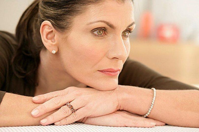 Жизнь после 40 женщина морщины менопауза
