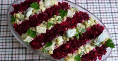 Новогодний салат шуба