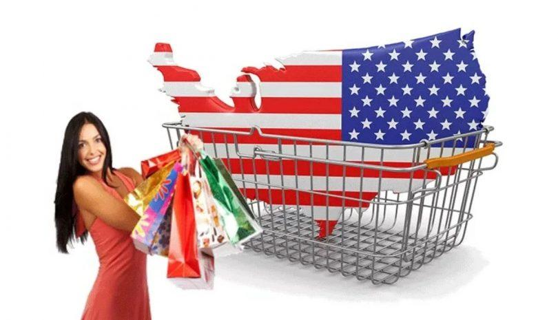 покупки в США