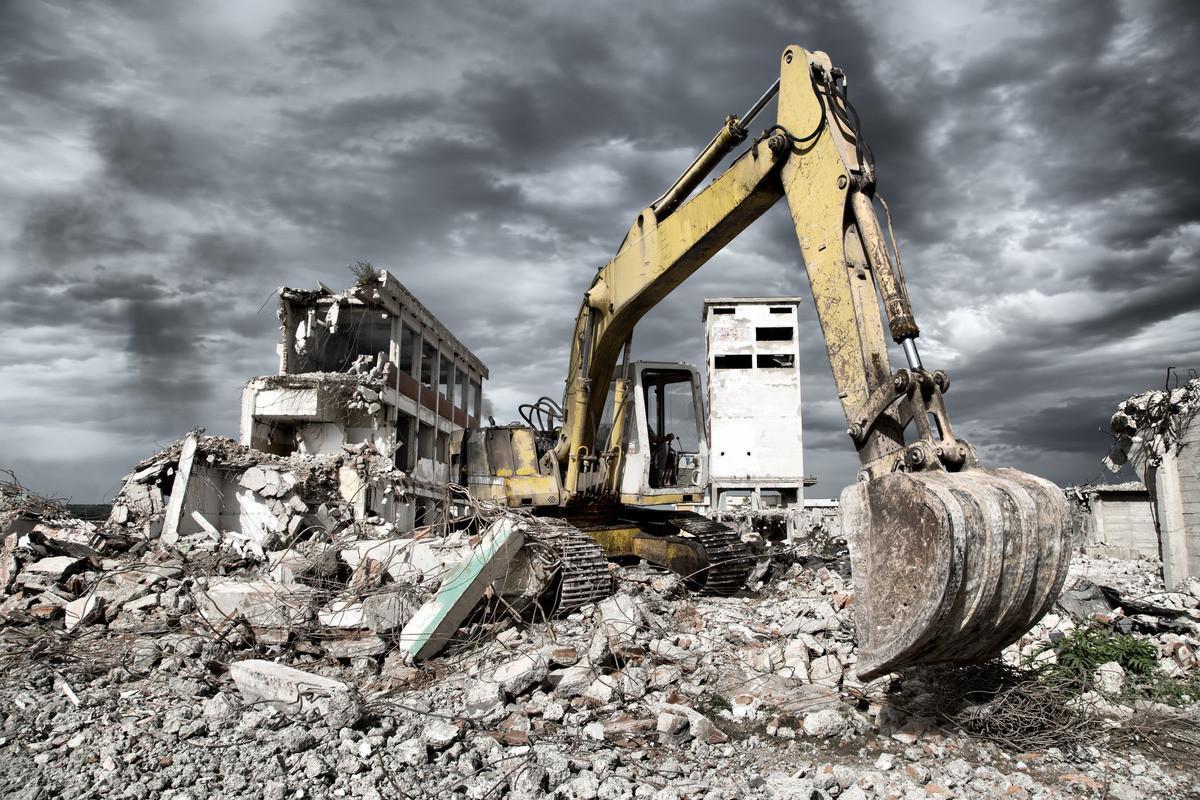 Демонтаж металла и металлоконструкций