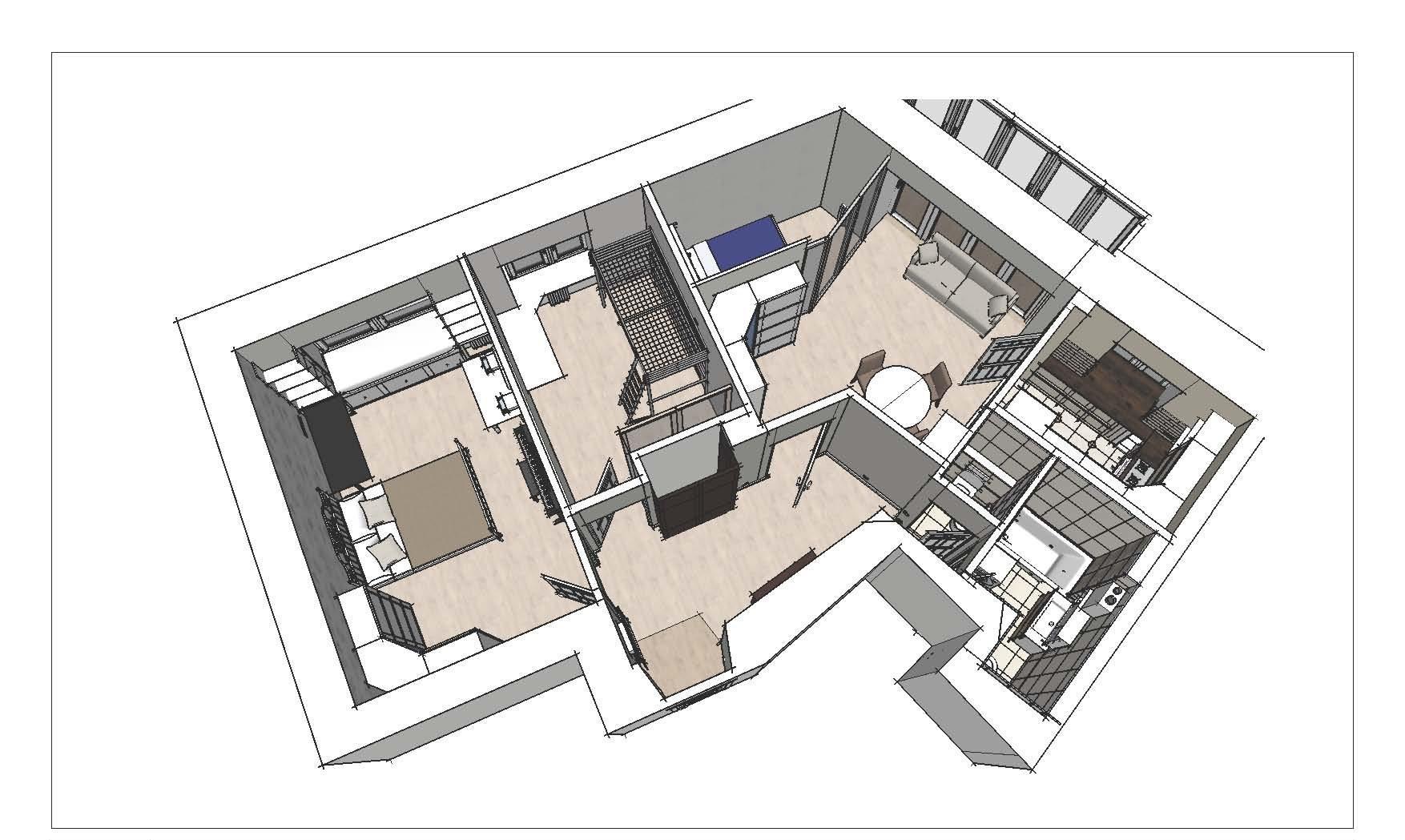 Особенности проекта перепланировки квартиры
