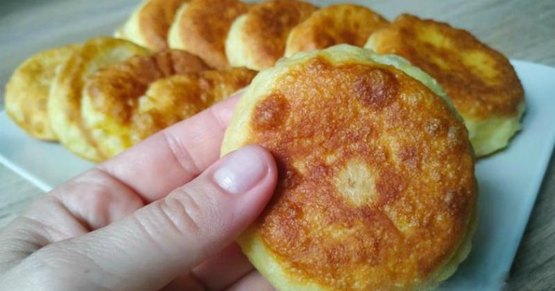 ленивые пирожки с начинкой