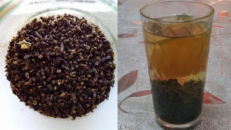 как приготовить чай из листьев вишни