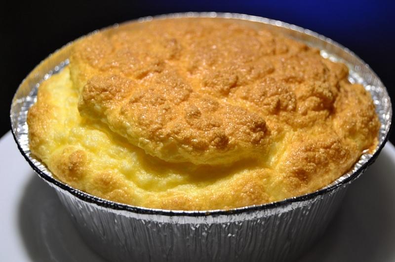 суфле с картофелем и сыром