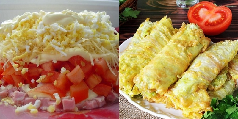 закуска с пекинской капустой