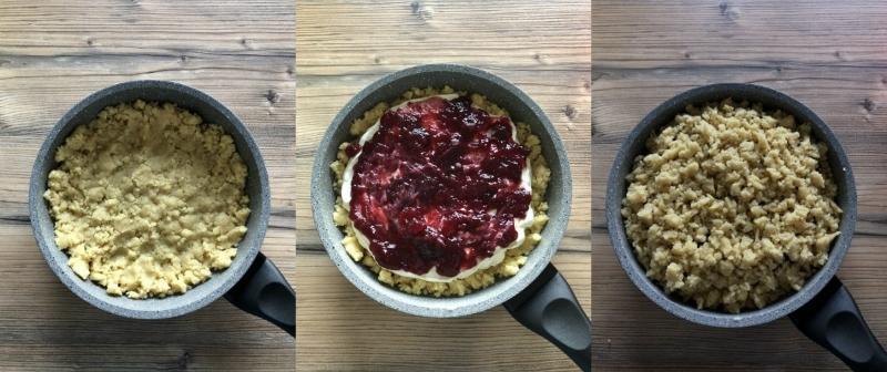 пирог в сковороде