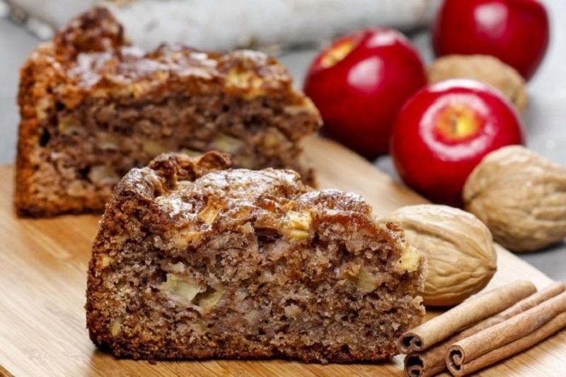 как приготовить яблочный пирог с корицей